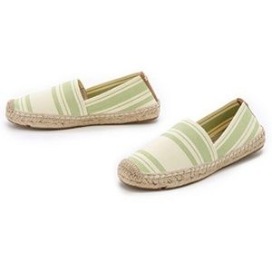 Tory Burch Elastic Stripes  Espadrilles